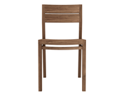 ethnicraft teak ex-1 chair, L 17"