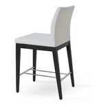 cite aa wood counter stool