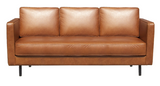ethnicraft n501 sofa, 3 seater, old saddle, W 79"