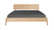 ethnicraft oak air bed - with slats - US king size, L 84"