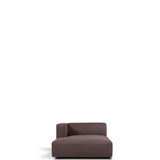 prostoria match chaise longue, left facing