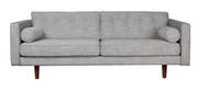ethnicraft n101 sofa, 3 seater, wheat, W 80"