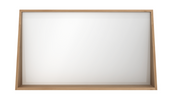 ethnicraft oak qualitime bathroom mirror, L 47"