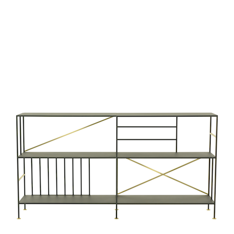 new prairie horizontal shelves