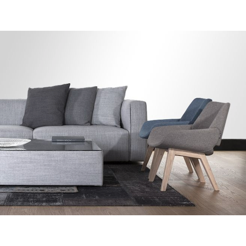 prostoria match two-piece sofa
