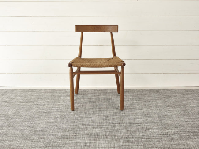 chilewich mini basketweave woven floormat