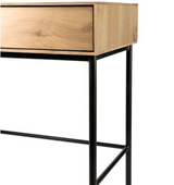 ethnicraft, oak whitebird desk