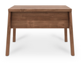 ethnicraft teak air bedside table