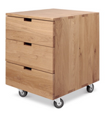 ethnicraft oak billy drawer unit