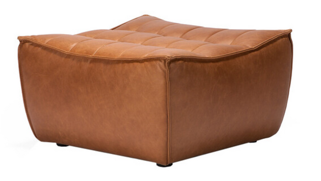 ethnicraft n701 sofa - footstool