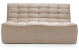 beige 2 seater sectional sofa