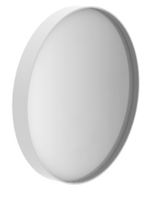 ethnicraft junior metal mirror, white, L 15"
