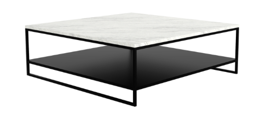 ethnicraft stone coffee table, L 43"
