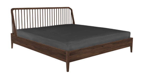 Walnut Spindle bed