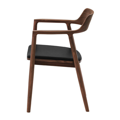 maruni hiroshima chair, arm, cushioned