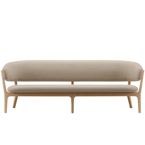 maruni roundish sofa, three seater