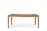 ethnicraft teak bok dining table, L 79"