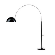 oluce coupe' 3320/r floor lamp, black