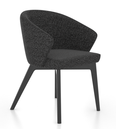canadel, downtown, 5139 armchair, fabric mj