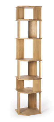 ethnicraft oak stairs column, L 18"