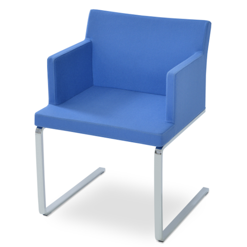 cite so flat arm chair