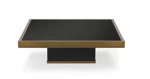 ethnicraft trifecta charcoal coffee table - s - W 24"