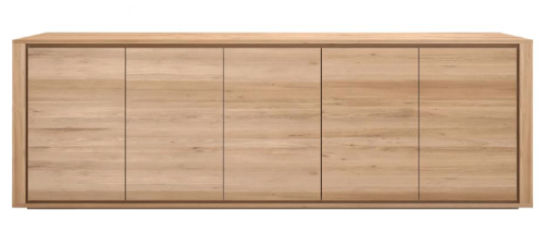 ethnicraft oak shadow sideboard
