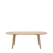maruni roundish dining table, medium