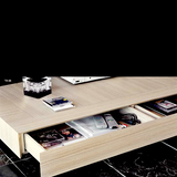 cecchini ta low table with hidden drawers