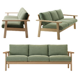maruni bruno sofa, three seater