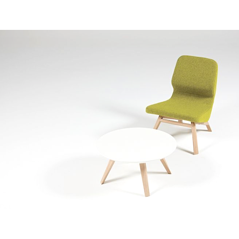 prostoria oblique lounge chair