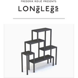 frederik roijé longlegs bookcase (five shelves)