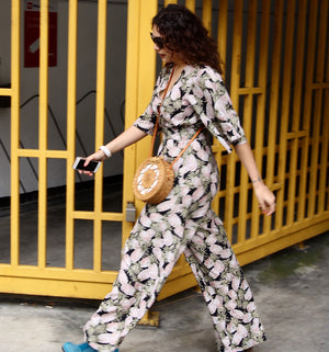Anna Jumpsuit in Pineapples