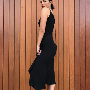 Wrap dress  in Black