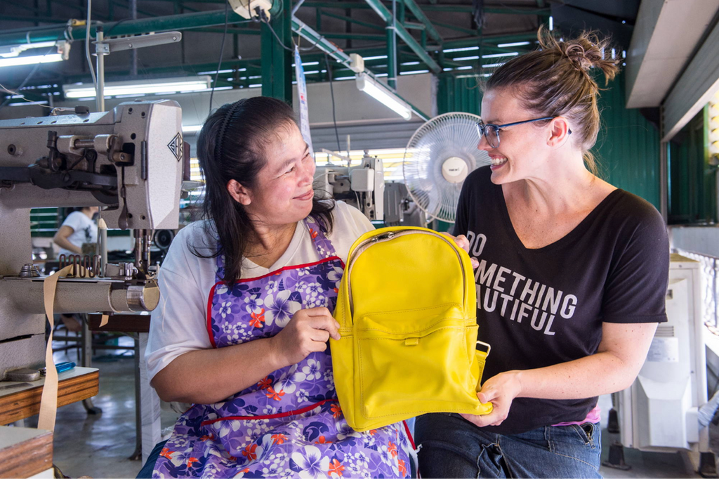 Bags that give back