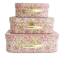 Load image into Gallery viewer, CARRY CASE SET 3PCS /  CHLOE PRINT by Alimrose