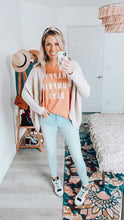 Load image into Gallery viewer, HAPPY PUMPKIN DAYS • boyfriend tee • SALE ITEM