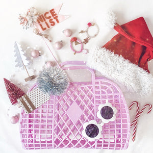 Retro Basket by Sun Jellies • Large