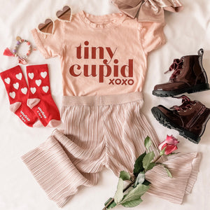 TINY CUPID xoxo • kids tee SALE ITEM