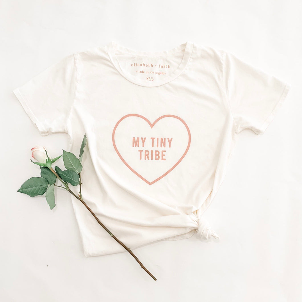 MY TINY TRIBE •  boyfriend tee SALE ITEM