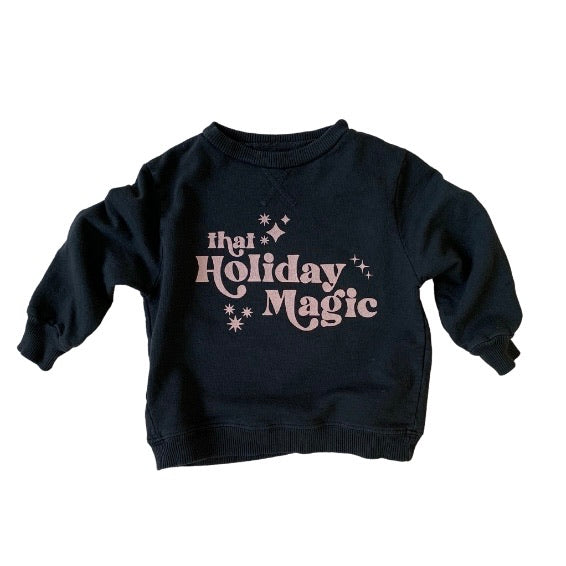 that Holiday Magic kids pullover
