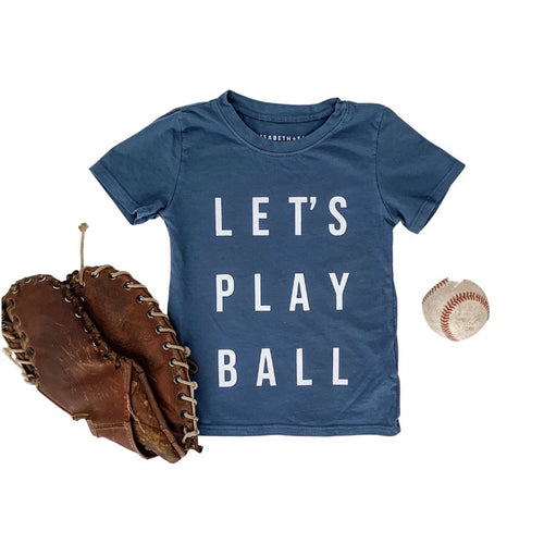LET'S PLAY BALL • kids tee