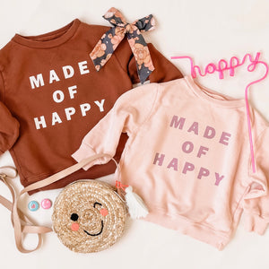 MADE OF HAPPY• kids pullover in gingerbread