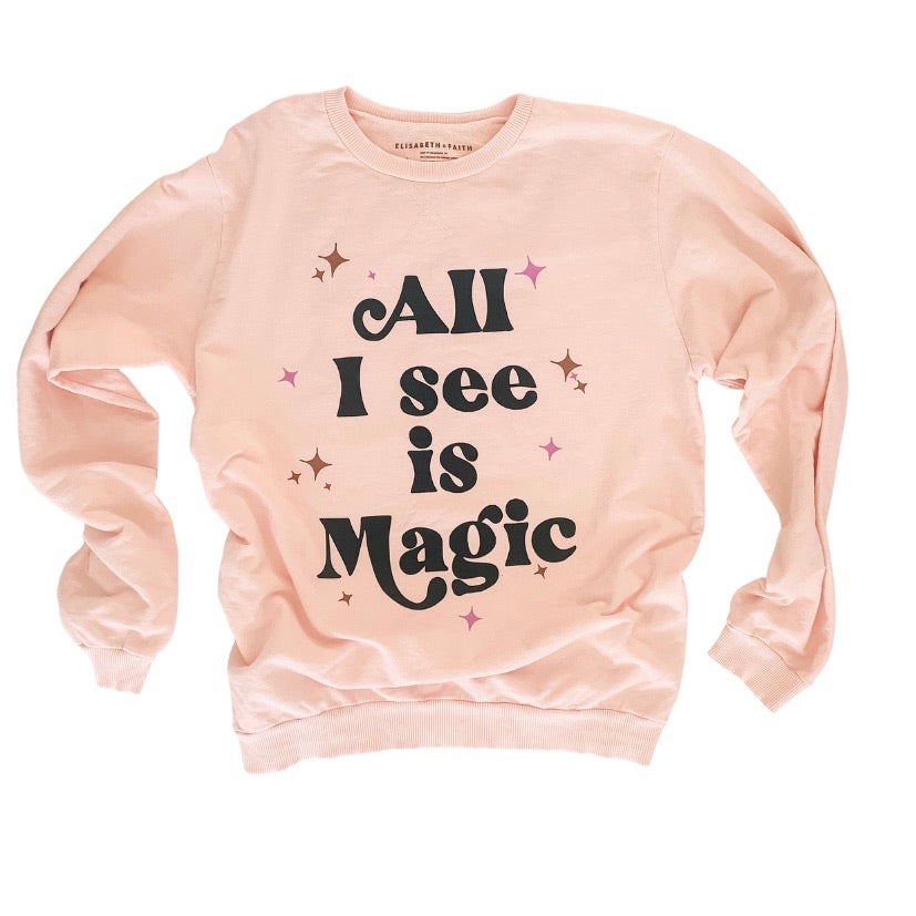 All I see is Magic • women's pullover
