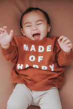 Load image into Gallery viewer, MADE OF HAPPY• kids pullover