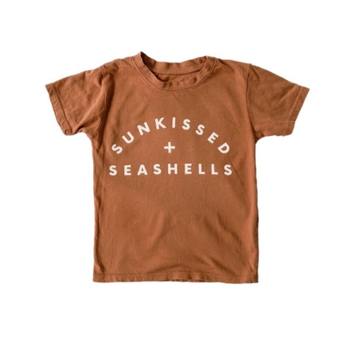 SUNKISSED + SEASHELLS • kids tee