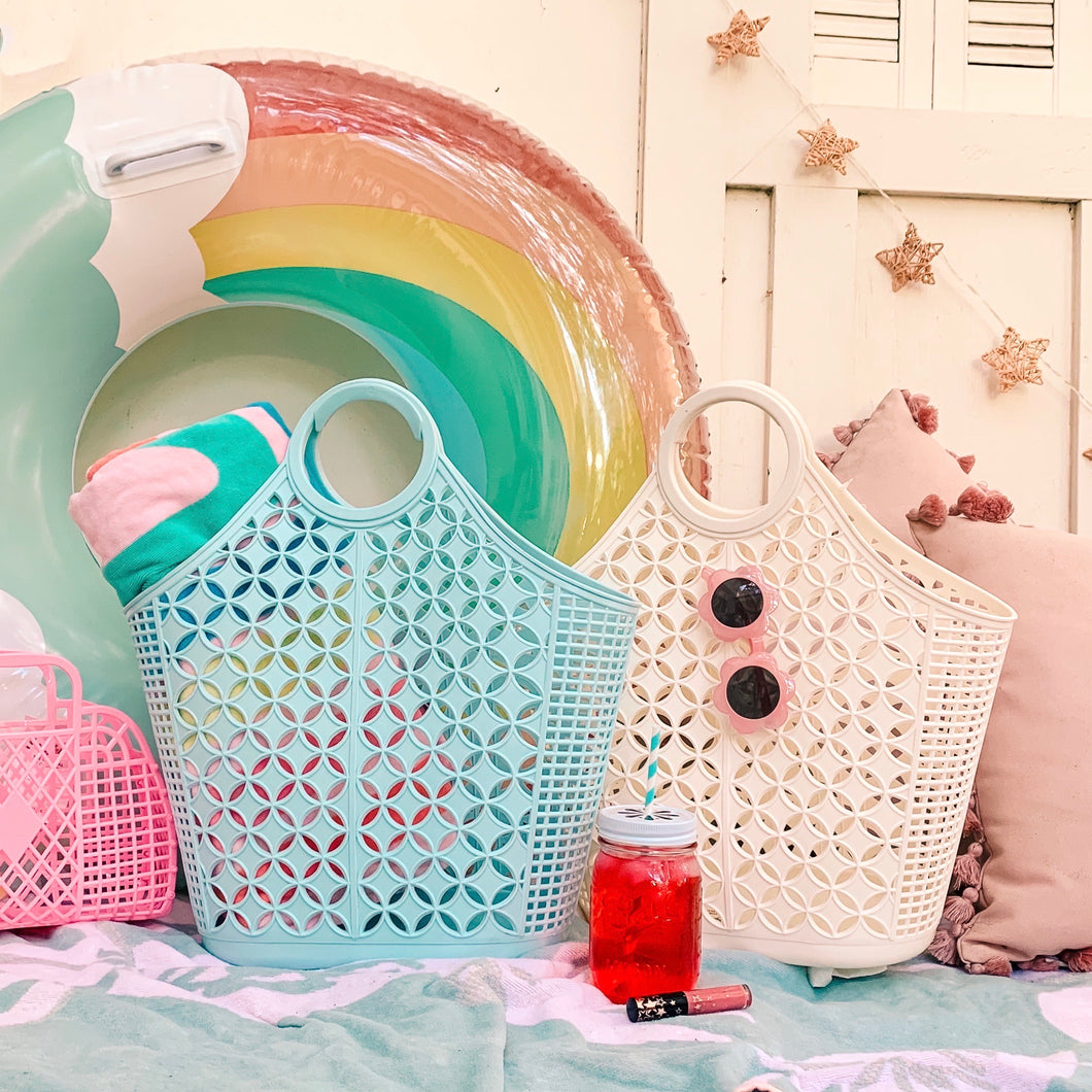 Atomic jelly tote by Sun Jellies