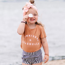 Load image into Gallery viewer, SUNKISSED + SEASHELLS • kids tee