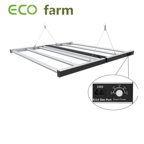 ECO Farm Striscia luminosa commerciale dimmerabile ad alta efficienza 660W 180 ° pieghevole Samsung 301B + chip Osram grande sconto