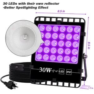 ECO Farm 2 PCS 30W UV supplementare COB LED Grow Light vendita veloce